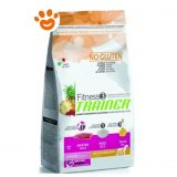 Trainer Fitness 3 Dog Junior Medium Maxi Anatra, Riso e Olio T