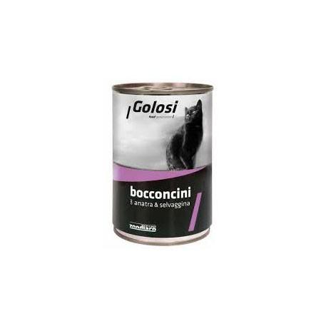 Golosi Cat Bocconcini Anatra e Selvaggina