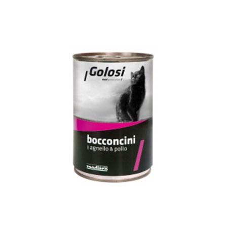 Golosi Cat Bocconcini Agnello e Pollo
