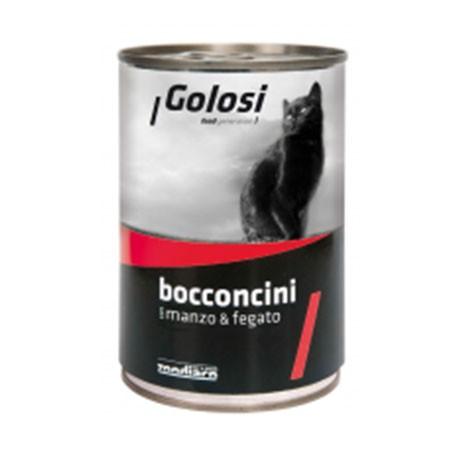 Golosi Cat Bocconcini Manzo e Fegato 400 grammi