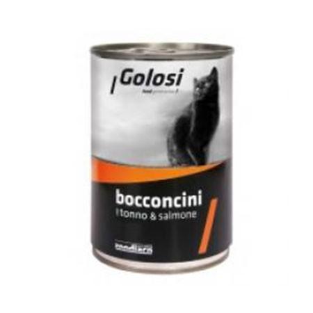 Golosi Cat Bocconcini Tonno e Salmone 400 grammi