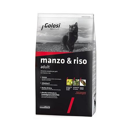 Golosi Cat Manzo & Riso Adult