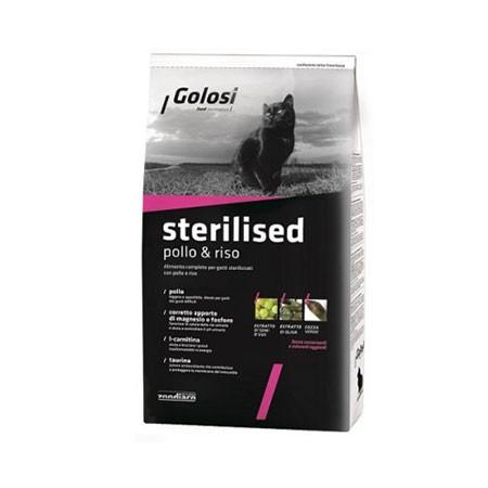 Golosi Cat Sterilizzato Pollo & Riso