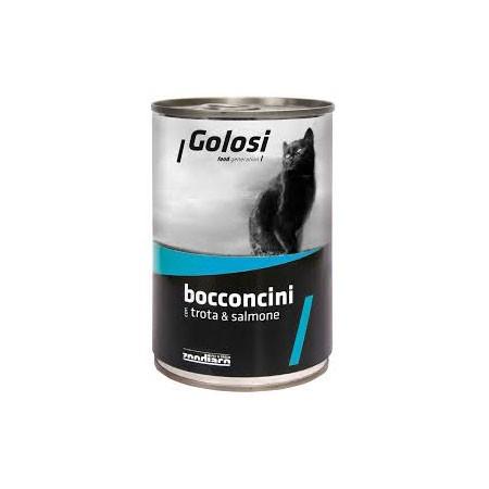 Golosi Cat Trota & Salmone 400 grammi