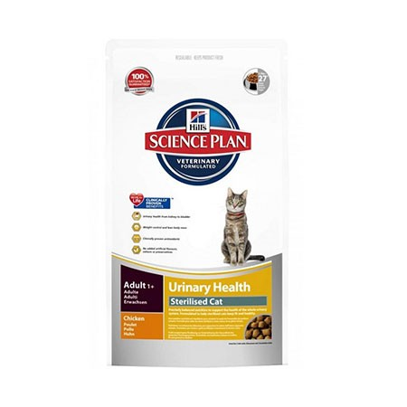 Hill's Science Plan Urinary Health Sterilised Cat adult pollo