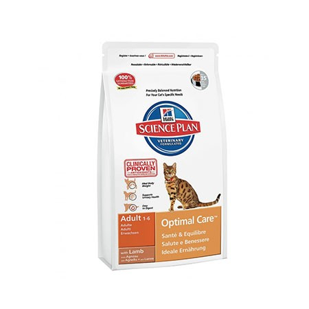 Hill's Science Plan Cat Adult Optimal Care Agnello