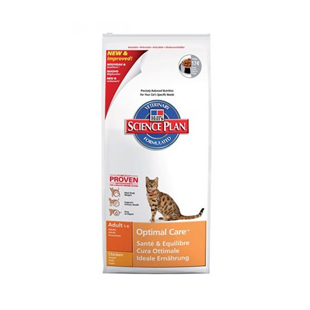 Hill's Science Plan Feline Adult Optimal Care Pollo