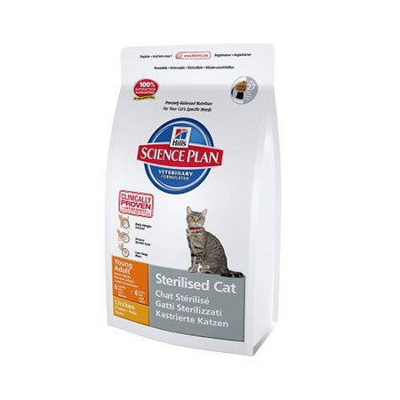 Hill's Science Plan Feline Sterilised Cat Young Adult pollo 8 kg