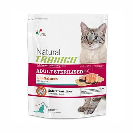 Trainer Natural Cat Adult Sterilised con Salmone