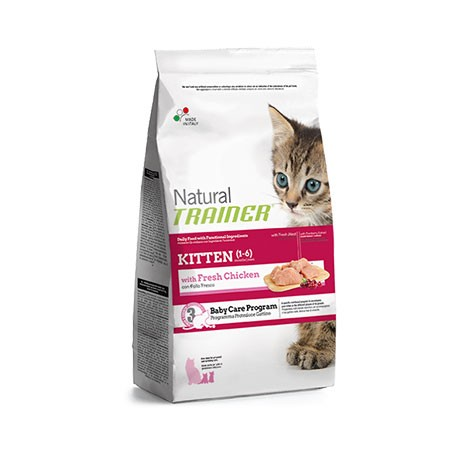 Trainer Natural Cat Kitten Pollo