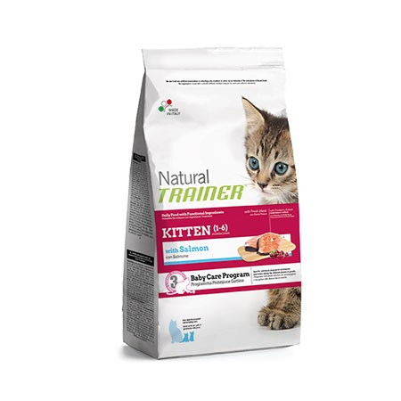 Trainer Natural Cat Kitten Salmone