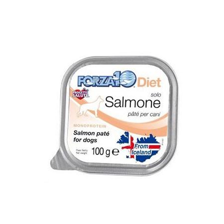 Forza10 Diet Cane solo Salmone 100 grammi