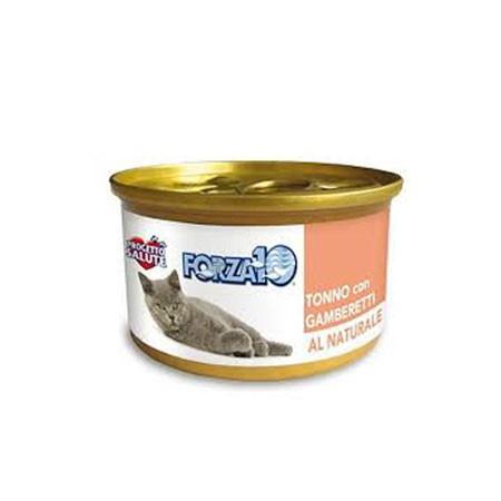 Forza10 gatto - Tonno e gamberetti al naturale 75 grammi