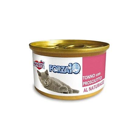 Forza10 gatto - Tonno e Prosciutto Al Naturale 75 grammi