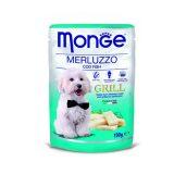 Monge Dog Grill Merluzzo 100 grammi
