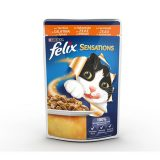 Purina Cat Felix Sensations  Jellies Tacchino in Gelatina con Spinaci 100 grammi