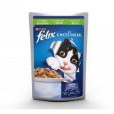 Purina Cat Felix le Ghiottonerie Coniglio in gelatina busta 100 grammi