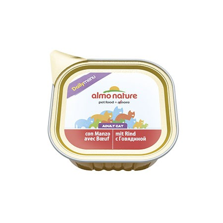 Almo Nature Cat DailyMenu Manzo 100 grammi