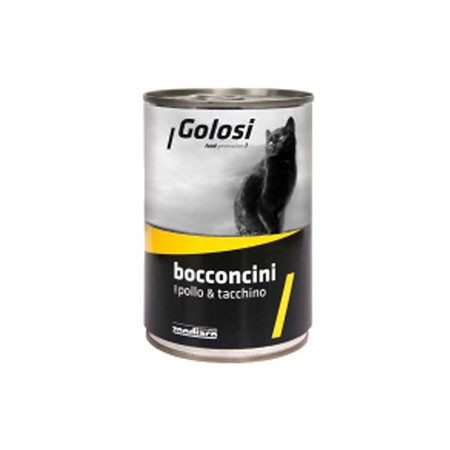 Golosi Cat Pollo & Tacchino 400 grammi