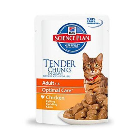 hills cat adult optimal care pollo gr 85