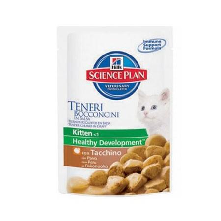 hills science plan feline kitten tacchino 85 grammi
