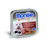Monge Fresh Patè e Bocconcini con Manzo 100 grammi