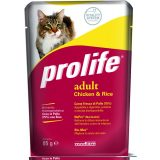 prolife cat pollo riso 85 grammi