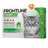 Frontline-combo-gatto-3-6-pipette-antiparassitario-per-gatto-e-furetti