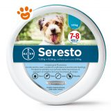 Bayer Seresto Collare Antiparassitario per cani fino a 8 kg By