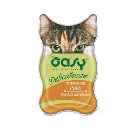 Oasy cat delicatesse pat con pollo vaschetta amore for Vaschetta tartarughe prezzo