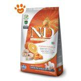 Farmina N&D Grain Free Pumpkin Adult Medium Maxi Merluzzo, Zucca e Arancia F