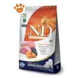 Farmina N&D Grain Free Pumpkin Puppy Medium Maxi Agnello, Zucca e Mirtilli F