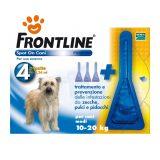 Frontline Spot On Antiparassitario per Cani Medi 10-20 Kg F