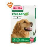 Beaphar Collare 65 cm Protezione Naturale - Antiparassitario Cani Taglia Piccola-Media