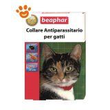 Beaphar Collare Rosso 35 cm - Antiparassitario Gatti