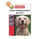 Beaphar Collare Rosso 65 cm - Antiparassitario per Cani