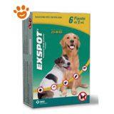 Exspot 6 pipette 1 ml per Cani da 2,5 kg a 40 kg E