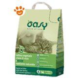 Oasy Lettiera Naturale per gatti Orzo e Neem