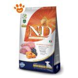 Farmina N&D Grain Free Pumpkin Puppy Mini Agnello Mirtillo Zucca