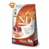 Farmina N&D Grain Free Pumpkin Adult Mini Pollo Zucca e Melograno F
