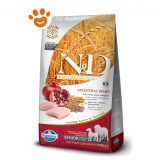 Farmina N&D Low Grain Senior Medium Maxi Pollo e Melograno F
