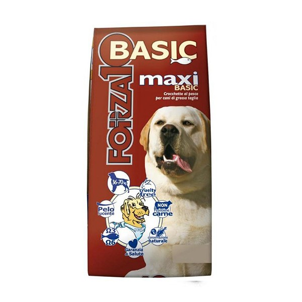 Forza10 Dog Basic Maxi al Pesce