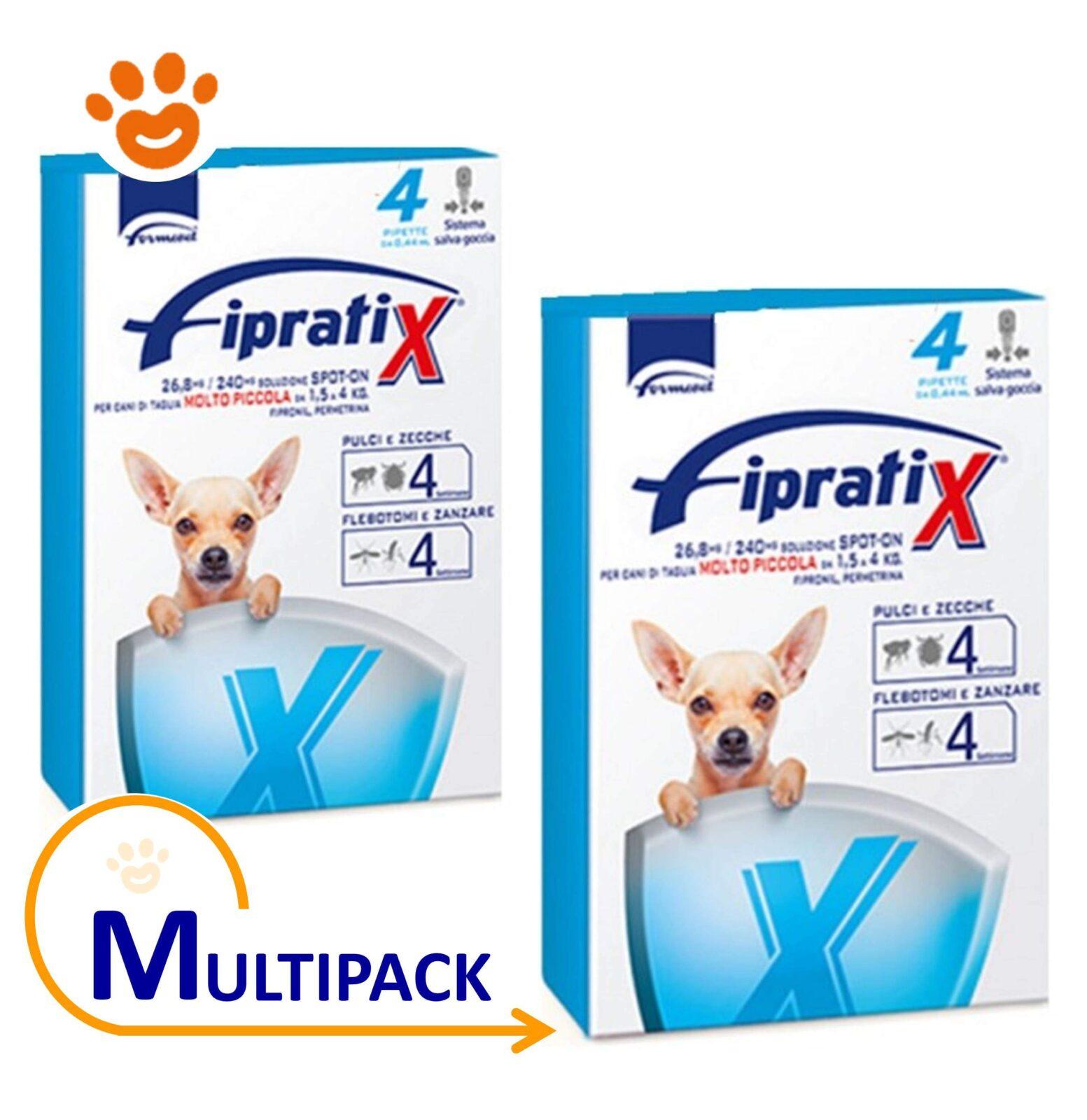 Fipratix per cani da 1 5 4 kg di taglia molto piccola for Nomi per cagnolini di piccola taglia