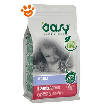 Oasy Cat Adult Agnello