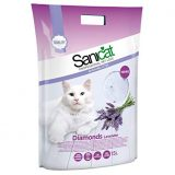 sanicat lettiera per gatti fresh diamonds lavanda
