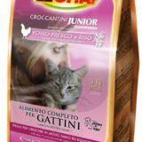 lechat croccantini per gatto kitten con pollo fresco e riso da 1,5 kg