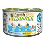 trainer fitness no gluten puppy junior con pesce riso olio 150 g