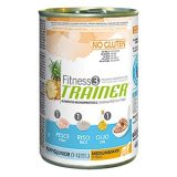 trainer fitness no gluten puppy junior medium maxi con pesce riso olio 400 g