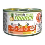 trainer fitness no grain adult mini con coniglio patate olio 150 g