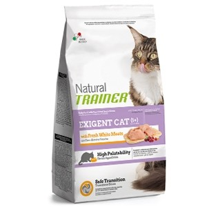 Trainer Natural Exigent Cat Carni Bianche Fresche